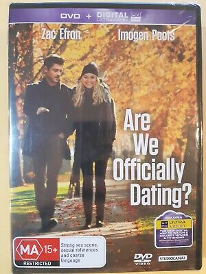 Are We Officially Dating? [ Region 4 DVD ] Brand New & Sealed, FREE Next DayPost