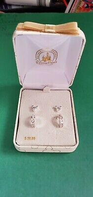 Disney Parks Mickey Icon Earrings 2 pair Silver Tone New with giftbox FREE SHIP