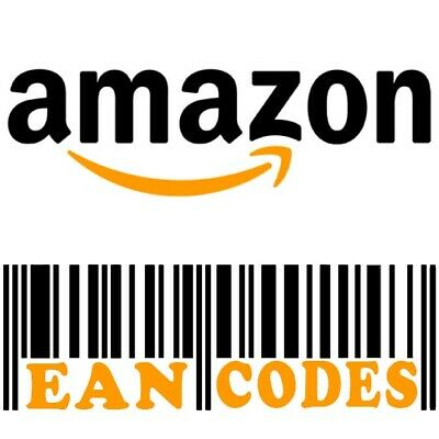 X1000 UPC EAN Code Numbers Barcodes Bar Code for Amazon GS1 ECommerce AU US EU