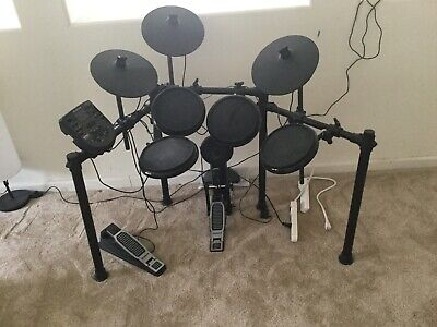 KAT KT3 6-PIECE Digital Electronic Drum Set Electric Kick Snare