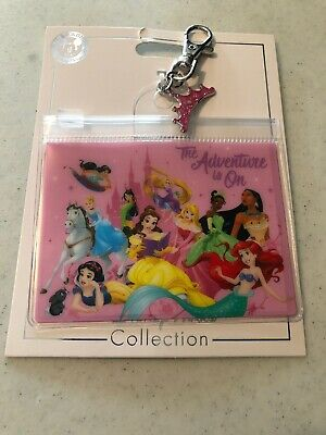 Disney Parks Princess Adventure is On Pin Trading Lanyard Pouch Card New