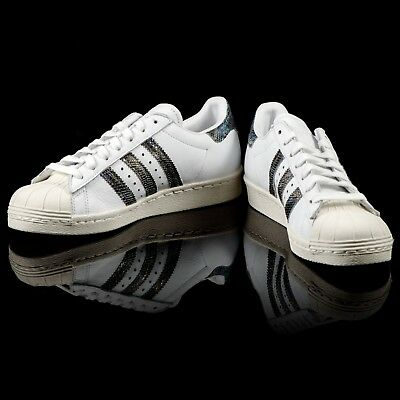 f13a6192c529f0 Adidas Originals Homme Superstar 80's Serpent Sneaker Baskets Taille 13