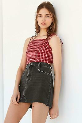 6be5489eeca3 URBAN OUTFITTERS BDG Denim Pencil Mini Skirt in Pink Acid Wash Size ...