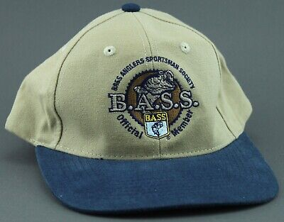 Bass Anglers Sportsman Society Hat Cap Official Member Baseball