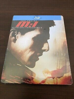 Mission Impossible M:1 Limited Edition Steelbook Blu-Ray NEW Sealed.