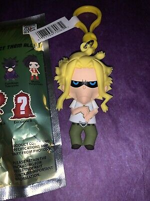 NeW MY HERO ACADEMIA Collectors Bag Clip Series 2 * ALL MIGHT * RaRe Keychain L2