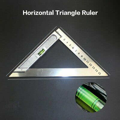 150MM Horizontal Triangle Measuring Ruler Triangle Angle Measuring Tool DR