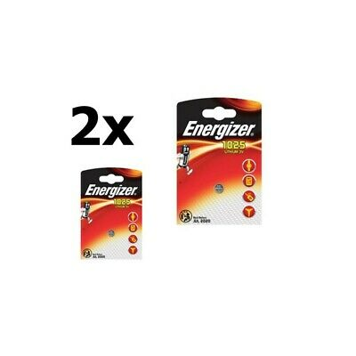 UK BS239-2x Energizer CR1025 30mAh 3V battery 2 Pieces