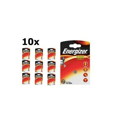 UK BS239-10x Energizer CR1025 30mAh 3V battery 10 Pieces
