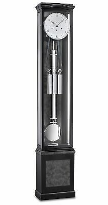 Grandfather clock black from Kieninger KN 0193-96-01 NEW