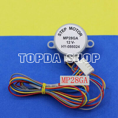 1PC Mitsubishi MP28GA 12V Indoor Hanger Synchronous Swing-blade Motor