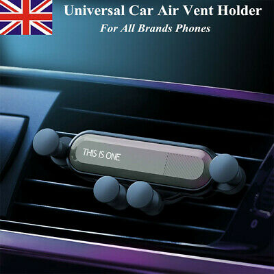 Universal Air Vent Car Mount Gravity Auto-Grip Phone Holder For All Brand Phones