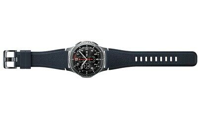 Genuine Samsung Gear S3 Frontier Silicon Replacement Strap Band - Black