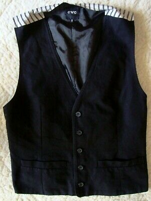 VEST gilet vintage 90's COSTUME NATIONAL C'N'C  made in Italy 52/38-L circa