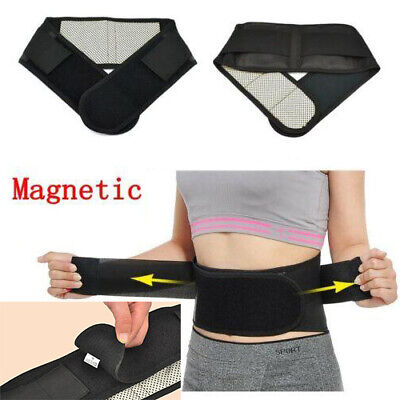 Magnetic Back Support -14 Pain Relief Magnets- Lower Lumbar Brace Belt Strap MEW