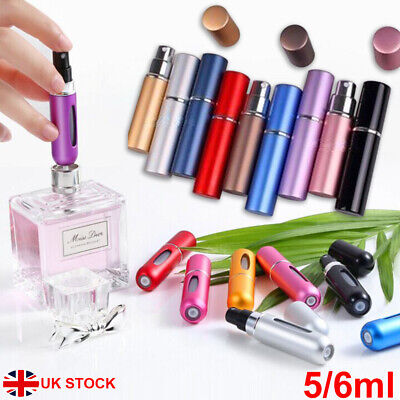 Refillable Perfume Atomiser Atomizer Aftershave Travel Spray Miniature Bottle UK