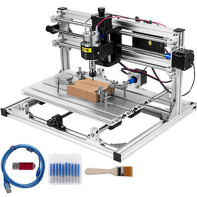 3 Axis CNC Router Kit 3018 Engraver Injection Molding Material DIY USB Port