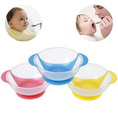 1Pc Baby cutlery kids children non-slip suction bowl sucker bowl feeding IO