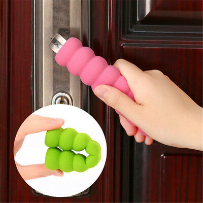3pc Door Handle Cover Pad Safty Protector Guard Foam For Baby Kid Toddler S IO
