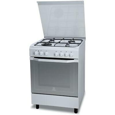 Indesit - I6TMH2AF (W)/I Cucina a Gas 4 Fuochi Forno Ventilato 60x60cm - OUTLET