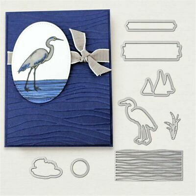 Lakeside Metal Cutting Dies And Stamp Stencil for DIY Scrapbooking Photo Album
