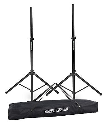 2x HIGH QUALITY SPEAKER TRIPOD STANDS KIT STAND DJ DISCO PA PAIR MAX 60KG WEIGHT