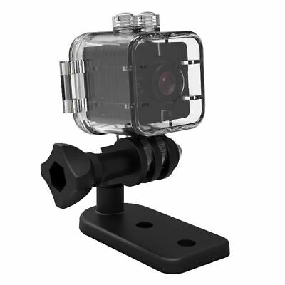 SQ12 Mini camara resistente al agua HD 1080P DVR Lente Camaras de video dep R3X4