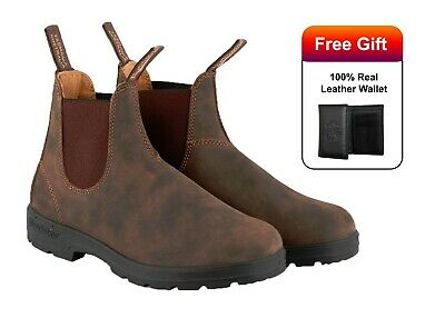 cc615b419ba NEW BLUNDSTONE STYLE 585 Rustic Brown Leather Boots For Men ...