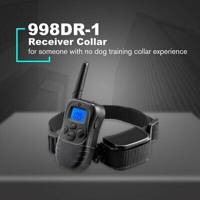 Electric LCD Display Dog Training Collar Pet Remote Control Waterproof 998DR-1 K