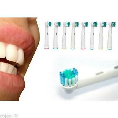 4 Pcs Precision Electric Toothbrush Replacement Brush Heads For Oral B Braun UK
