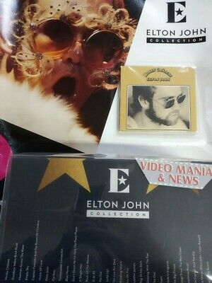 Elton John Collection CD 1 Honky Chateau + Box . Gazzetta Corriere Sera