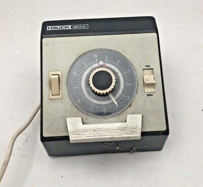 Hauck Electric secs/ minutes darkroom enlarger timer