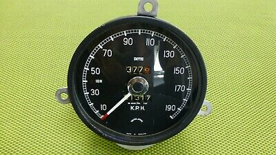 Jaguar MK I Rev Counter / Toerenteller / Speedometer KPH, refurbished