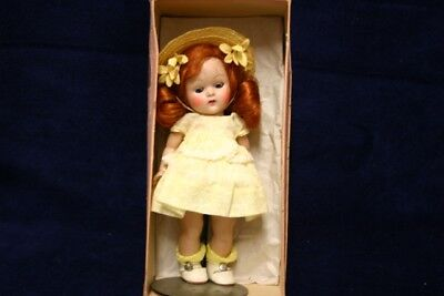 Vintage Vogue 1952 Ginny, Glad In Yellow Outfit, Near Mint In Box