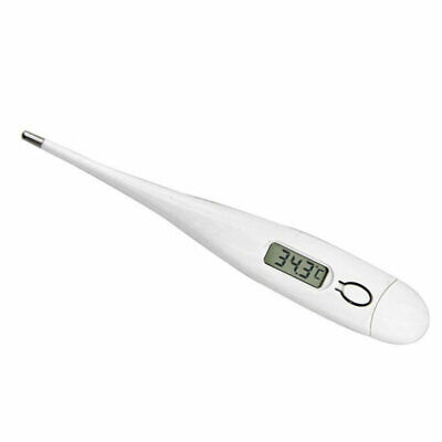 Digital Oral Thermometer LCD Baby Adult Kids Body Safe Ear Body Temperatu KVS