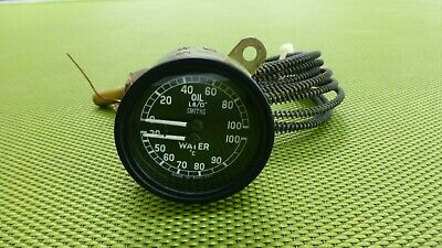 Jaguar XK Oil water temperature gauge Smiths
