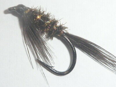 3x  olive competition lime Jungle Cock Diawl bach nymph mini damsel on B175