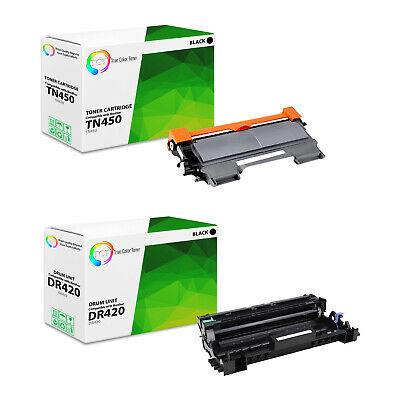 3Pk TCT Compatible Brother TN450 HY & DR420 HL-2240 MFC-7360 Toner & Drum Set