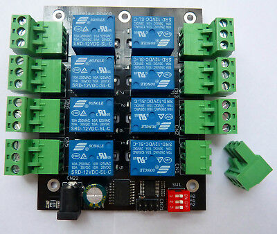 8-channel I2C IIC relay board for Raspberry Pi and Arduino UK