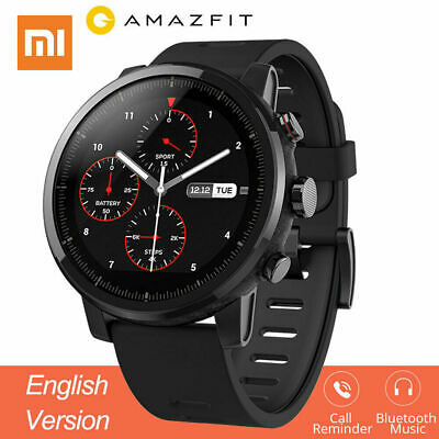 Xiaomi Huami Amazfit Stratos Smart Sports Watch 2 GPS PPG 5ATM English Version