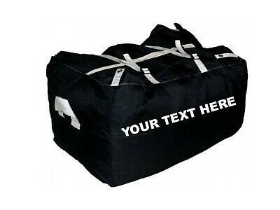 10 x PRINTED BLACK ULTRA STRONG LAUNDRY HAMPERS COMMERCIAL GRADE - SPECIAL OFFER