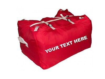 10 x PRINTED RED ULTRA STRONG LAUNDRY HAMPERS COMMERCIAL GRADE - SPECIAL OFFER