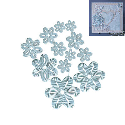 Flower Metal Cutting Dies Scrapbooking Embossing Paper Cards Punch Stencil HOT