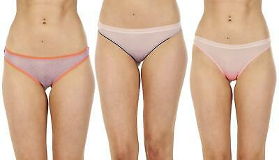 Ladies 5 Pack Floral G String High Waisted Mesh Multi Pack Thongs