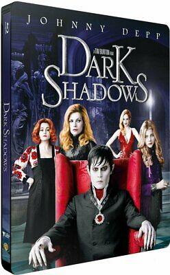 Dark Shadows Depp  Steelbook Blu Ray Neuf Sous Cellophane