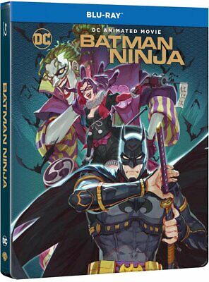 Batman Ninja Dc Comics  Steelbook Blu Ray Neuf Sous Cellophane