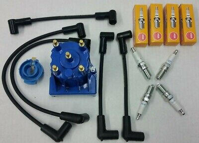 Tune-Up Kit with Spark Plug Wires Mercruiser 260 350 5.0L 5.7L Thunderbolt