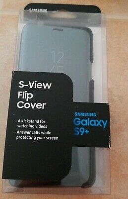 Original Samsung S-View Flip Cover Kickstand For Samsung Galaxy S9 Plus S9+