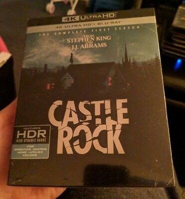 Castle Rock The Complete First Season 1 (Blu-ray + 4K UHD) BRAND NEW!!