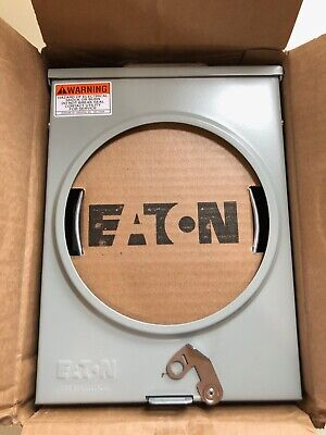 Eaton UHTRS101LJSCH Meter Socket, 1Ph, 125A, 3-Wire 4 Jaws Ringless Outdoor